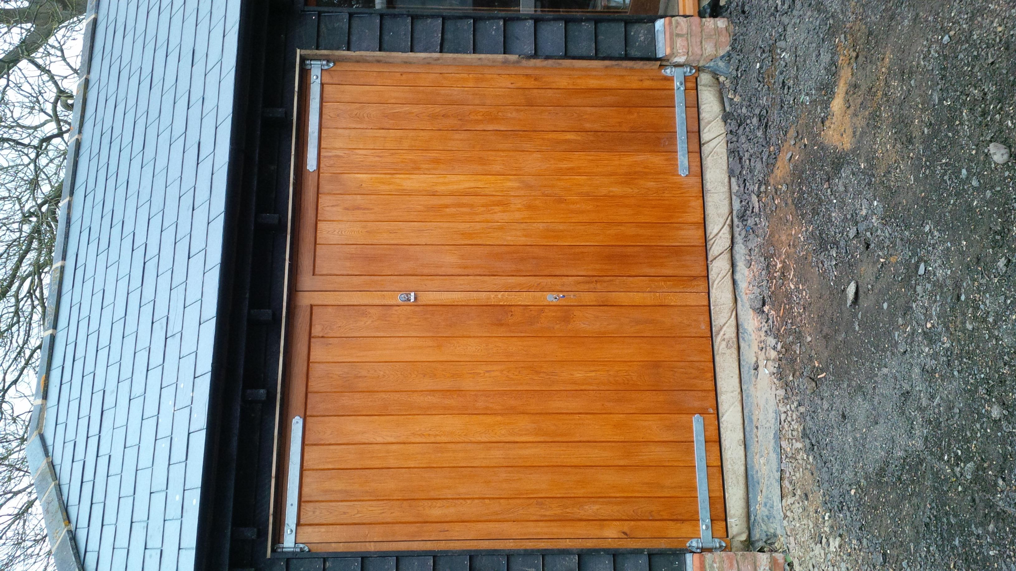 Solid Oak Windows