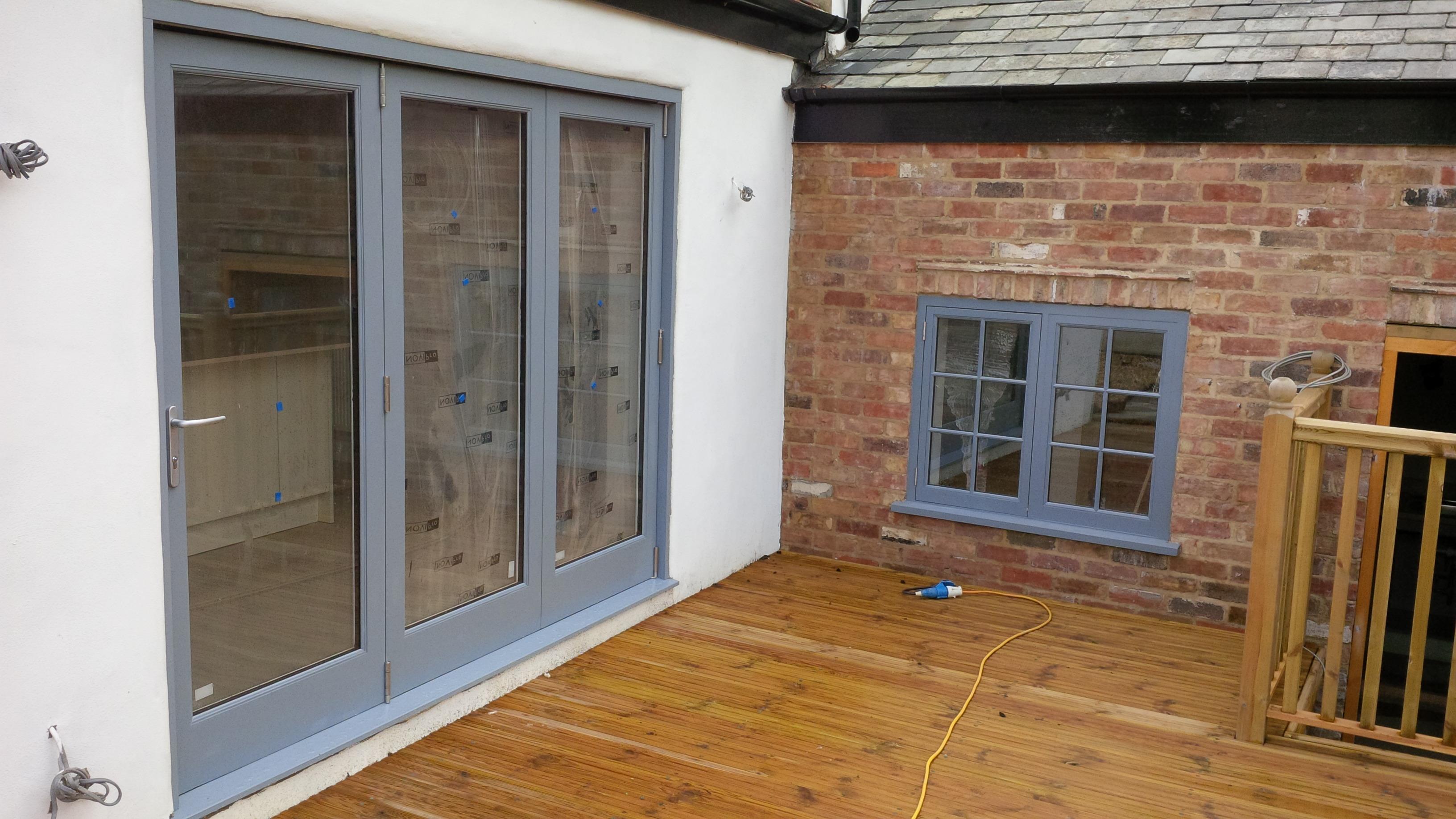Hardwood Window and Door Installation
