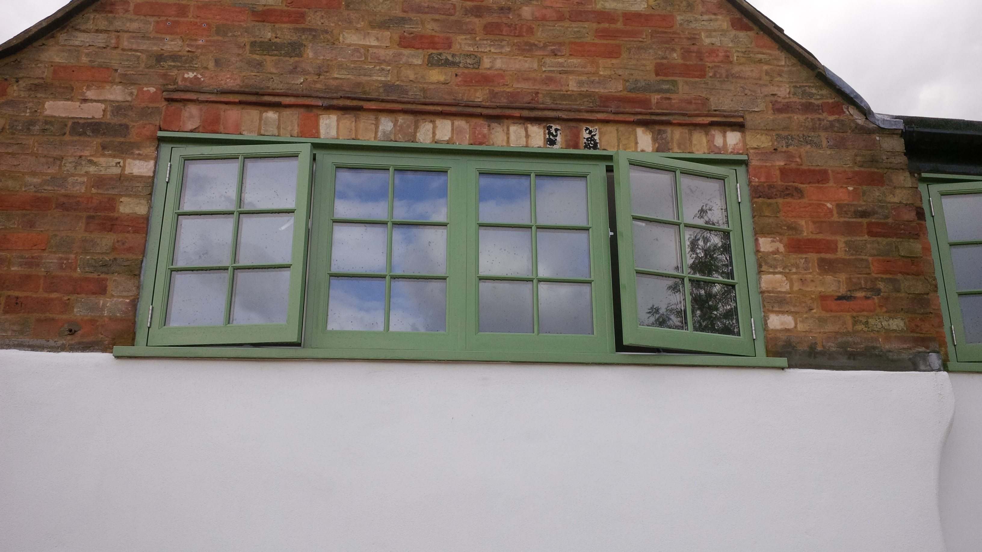 Hardwood Window Installation