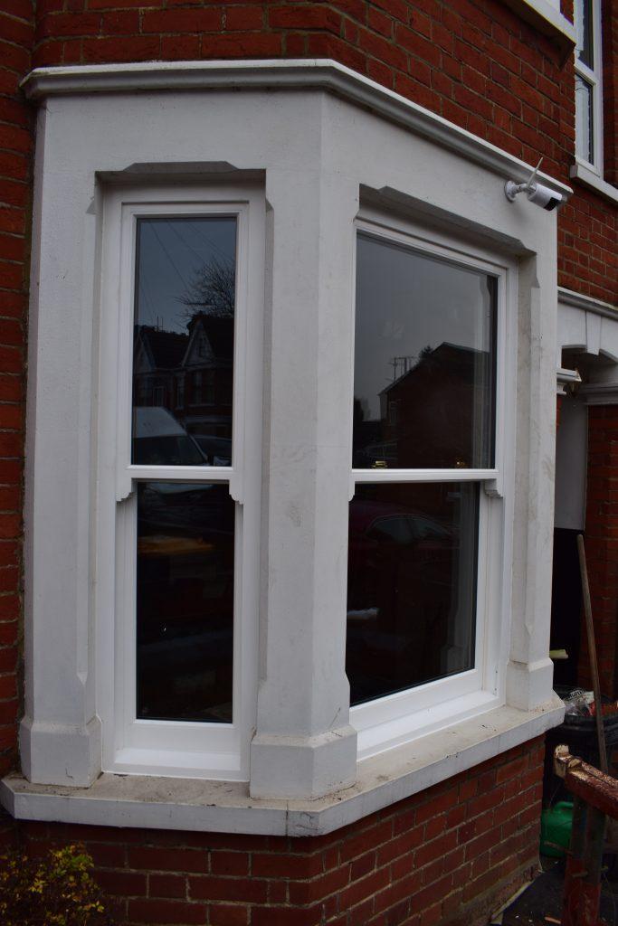 Traditional Hardwood Bay Window