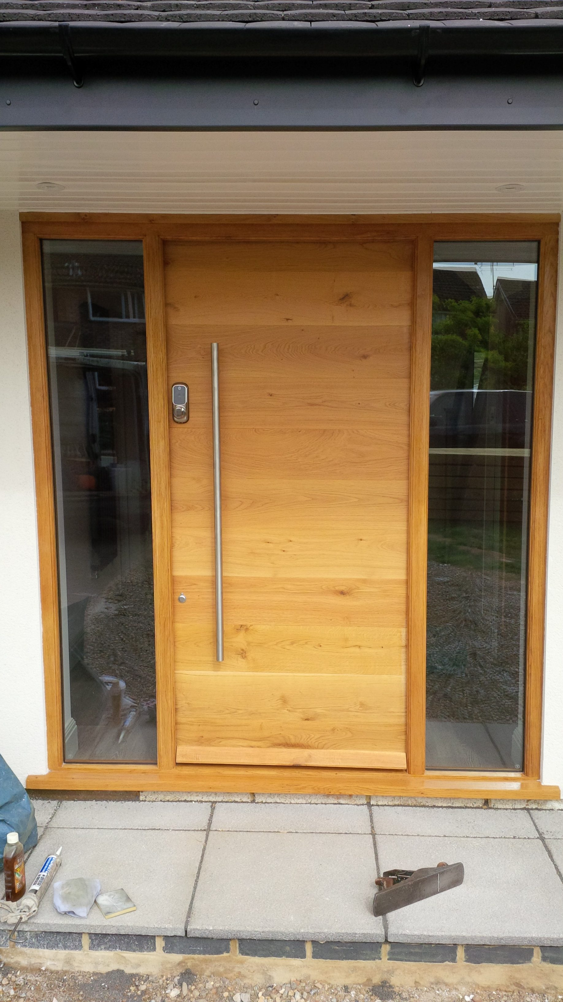 Oak Door and Frame