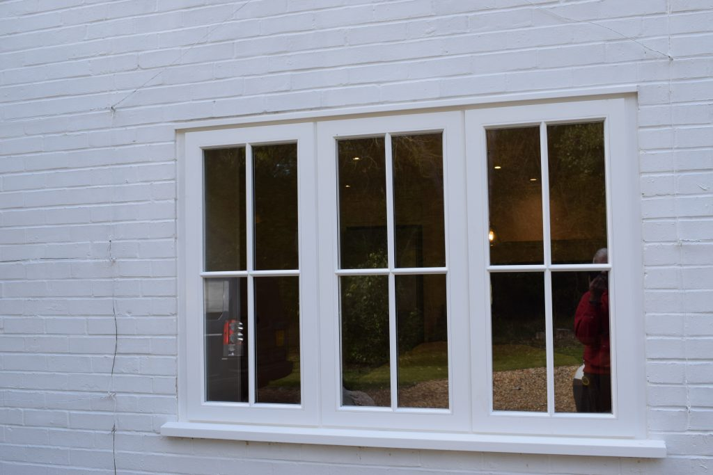 Accoya Window Installation - Archway Joinery